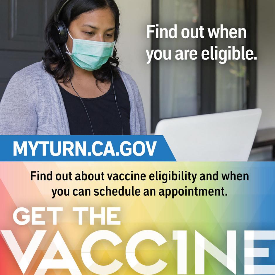 Get the vaccine - MyTurn.ca.gov