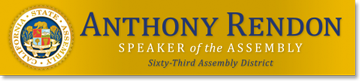 Official Website - Speaker Anthony Rendon Representing the 63rd California Assembly District