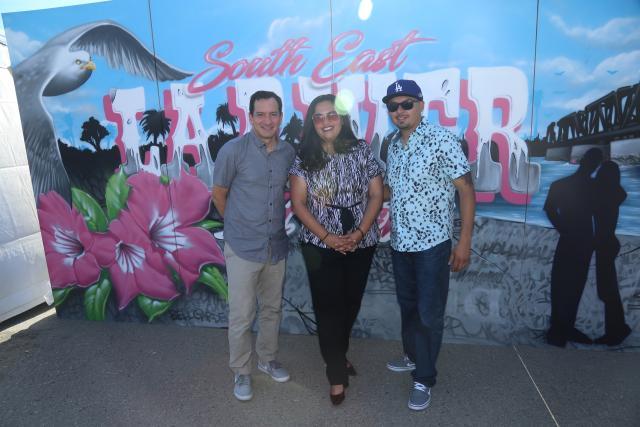 'Tetris' Murals Bring Color to Southeast LA Life